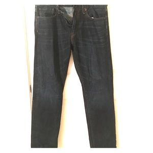 Gap dark wash jeans